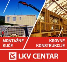 Montažne kuće i krovne konstrukcije - LKV CENTAR
